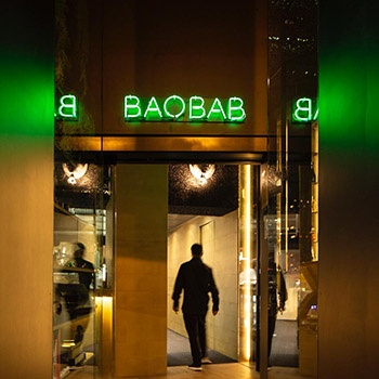 Porro - Porro for the new Baobab restaurant in Valencia
