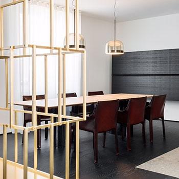 Porro - Il design è la parola chiave del nuovo appartamento milanese di Buratti Architetti
