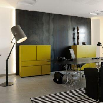 Porro, image:contract_immagini - Porro Spa - Private office - Lyon (France)
