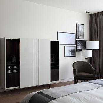 Porro, image:contract_immagini - Porro Spa - Hotel Roomers - Baden Baden (Germania)