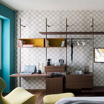 Porro, image:contract_immagini - Porro Spa - Castello Sforzesco Suites by Brera Apartments - Milan (Italy)