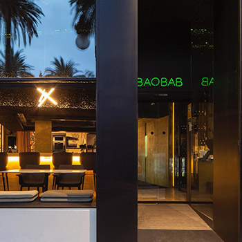 Porro, image:contract_immagini - Porro Spa - Porro for the new Baobab restaurant in Valencia