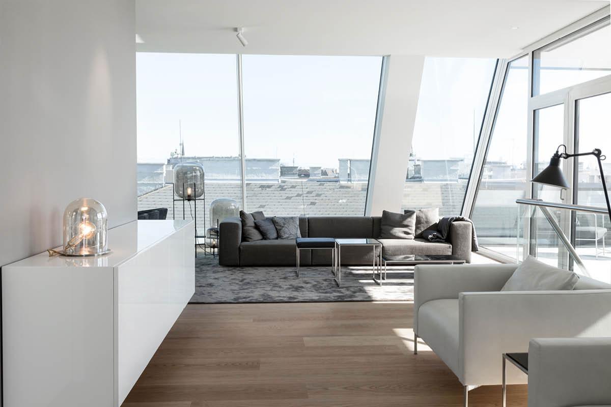 Porro, image:contract_immagini - Porro Spa - Vienna Penthouse