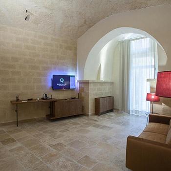 Porro, image:contract_immagini - Porro Spa - Porro's design purity for the Quarry Resort in Matera