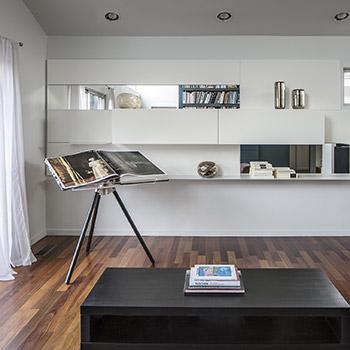 Porro, image:contract_immagini - Porro Spa - Interni contemporanei senza tempo per una casa a Palo Alto