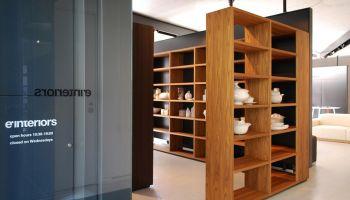Porro - Woodenland installation by Piero Lissoni arrives in Tokyo at e'interiors