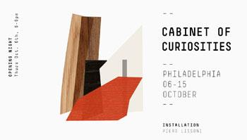 """Porro - """"CABINET OF CURIOSITIES"""" A PHILADELPHIA IN OCCASIONE DELLA DESIGN WEEK"""