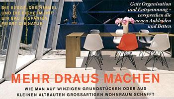 Porro - Metallico sulla copertina di Hauser Germania