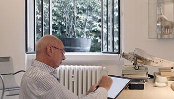 Porro - Novità 2020: tavolo Materic di Piero Lissoni