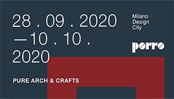 Porro - 28.09-10.10.2020<br />MILANO DESIGN CITY<br /><br />