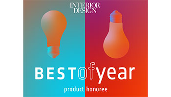 Porro - Romby premiata agli Interior Design magazine's Best of Year Awards
