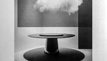 Porro - Il tavolo Materic inox sulla rivista Interni, Aprile 2021