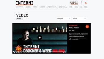 Porro - Intervista a Maria Porro su Internimagazine.it