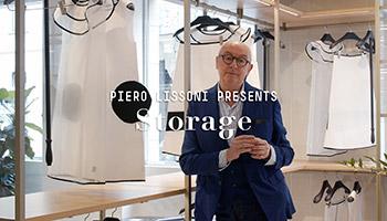 Porro - Novità 2021: armadi e dressing rooms Storage di Piero Lissoni + Centro Ricerche Porro – intervista