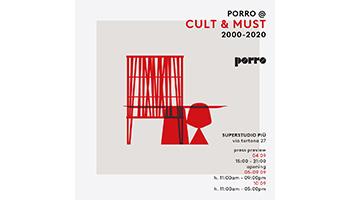 Porro - PORRO @ SUPERDESIGN SHOW - CULT&MUST- PREVIEW