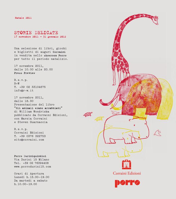 Porro, image:news_immagini - Porro Spa - Invito - Storie delicate - Natale Porro