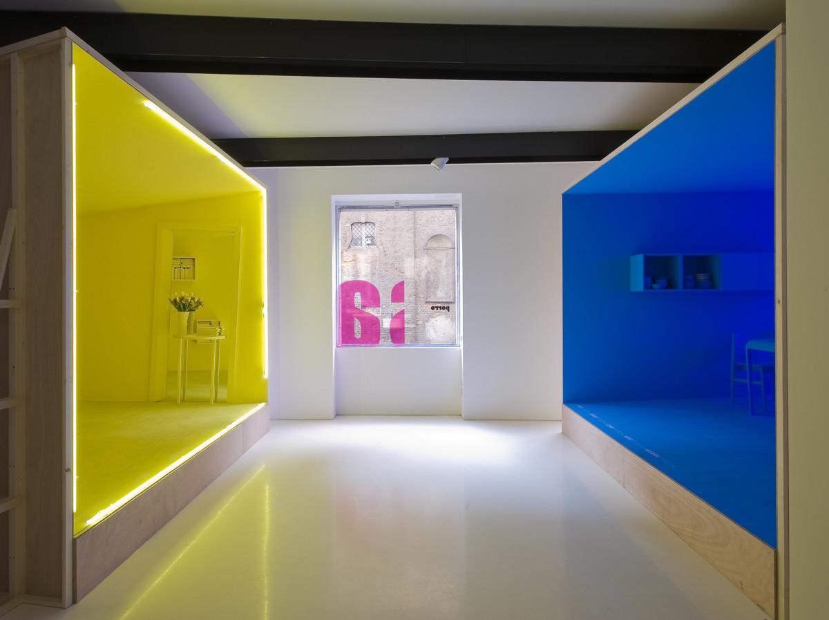 Porro, image:news_immagini - Porro Spa - Fuori Salone 2010 - Still life, moving life