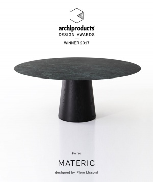 Porro, image:news_immagini - Porro Spa - Materic by Porro is winner of the 2017 edition of the Archiproducts Design Awards