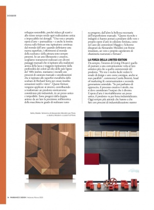 Porro, image:news_immagini - Porro Spa - From the system to the one-off piece: interview with Maria Porro on Pambianco Design
