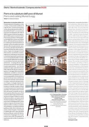 Porro, image:news_immagini - Porro Spa - Porro in the Company Stories of Domus 04/20