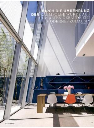 Porro, image:news_immagini - Porro Spa - Metallico sulla copertina di Hauser Germania