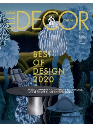 Porro, image:news_immagini - Porro Spa - Il tavolo Materic inox sulla copertina di Elle Decor