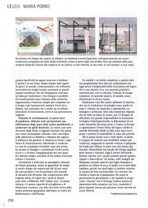 Porro, image:news_immagini - Porro Spa - Maria Porro, president of Assarredo