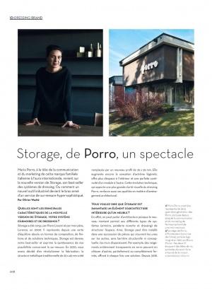 Porro, image:news_immagini - Porro Spa - Storage wardrobe on Ideat Francia: a tailor-made show