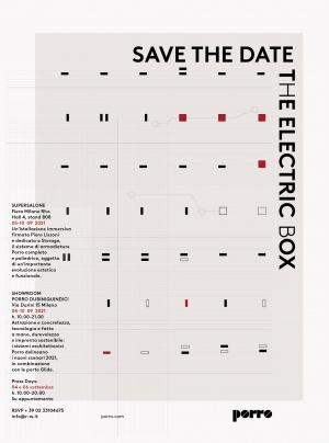 Porro, image:news_immagini - Porro Spa - PORRO @ MILAN DESIGN WEEK<br />THE ELECTRIC BOX