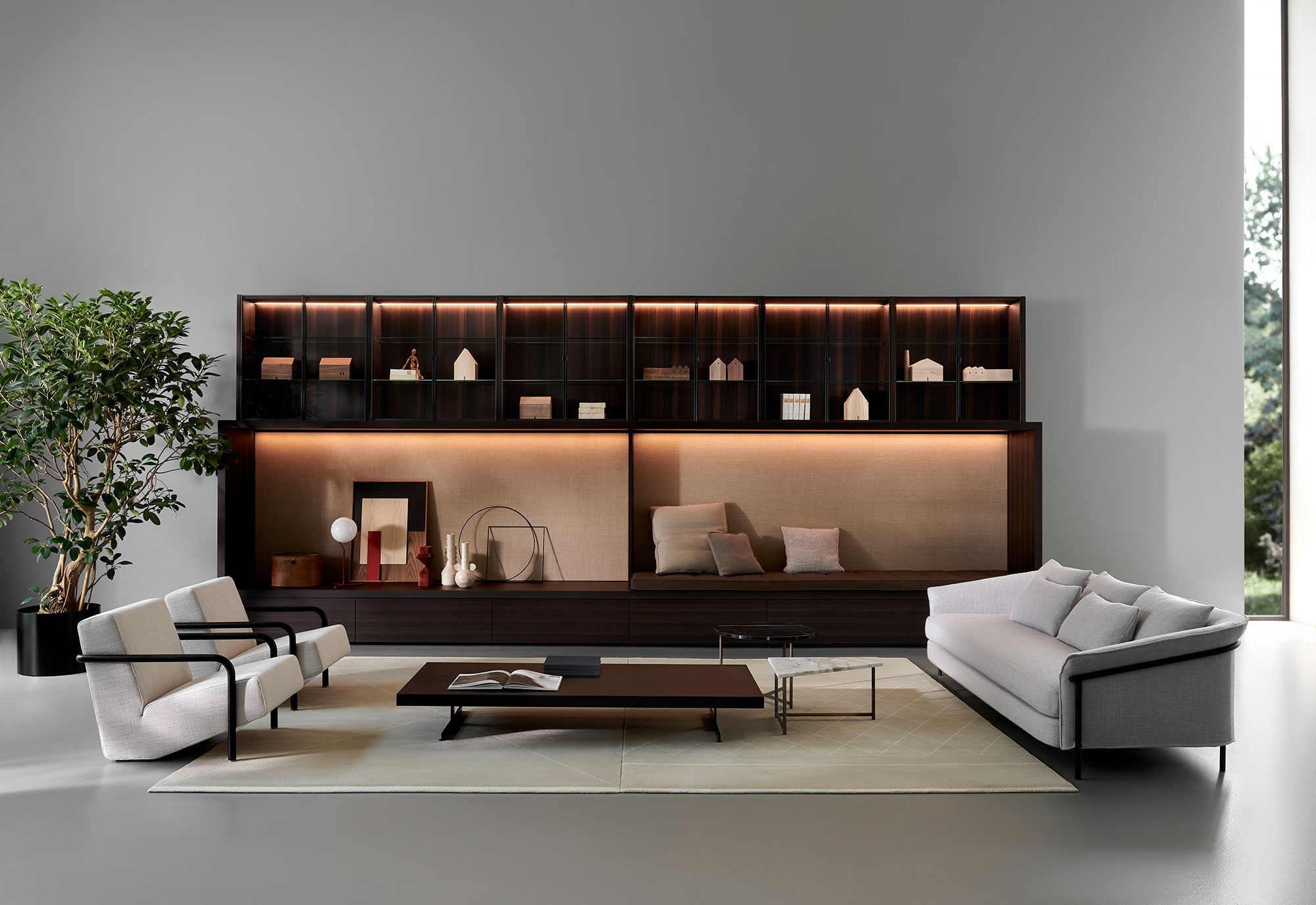 Porro, image:SYSTEM, designed by: Piero Lissoni + CRS -