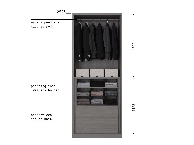 Porro, image:prodotti - Porro Spa - Organizzare l'interno/ Organize the interior